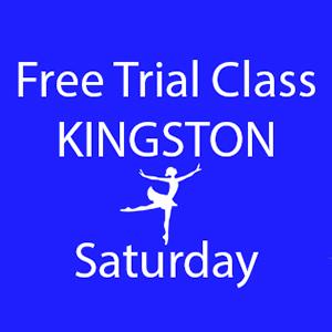 free trial dance class Kingston Saturday