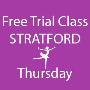 free trial dance class Stratford Thursday